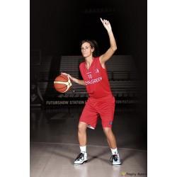 Completo Basket woman reversibile F300Macron