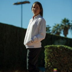 Giacca tuta Woman Tennis TORNEO II poliestere Joma