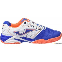Scarpe da tennis Joma Mens T.Pro-Roland 602 Blanco-Royal All Court