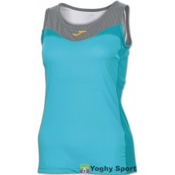 TOP FREE SLEEVELESS WOMAN BLUE GREY