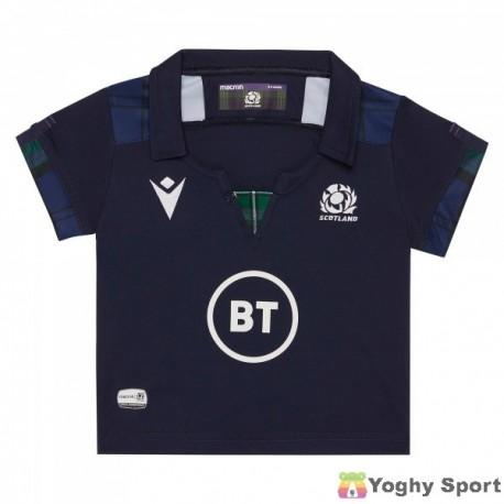 maglia home baby scozia rugby 2019/2020