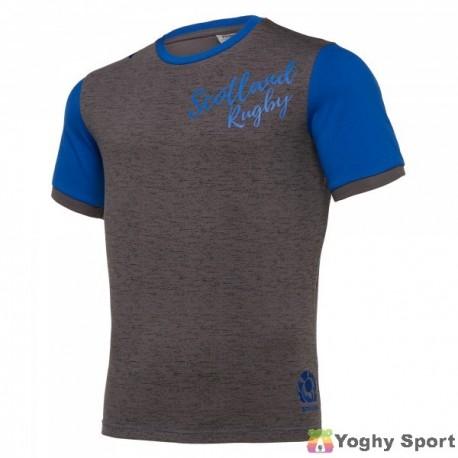 t-shirt polycotton leisure  scozia rugby 2019-2020