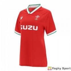 maglia home replica galles rugby 2020/21 da donna
