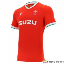 maglia home ufficiale galles rugby 2020/21